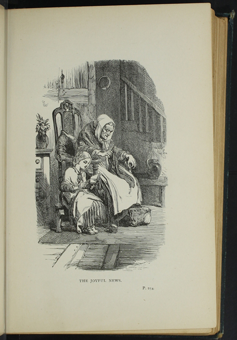 Illustration on Page 254a of the [1893] James Nisbet & Co. Reprint Depicting Ellen Reading to Grandma