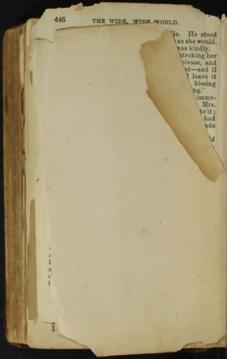 Verso of Back Flyleaf of the [1874] William Nicholson & Sons, S.D. Ewins & Co. Reprint