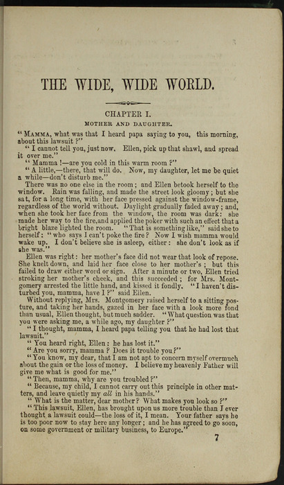 First Page of Text in the [1879] Milner & Sowerby Reprint