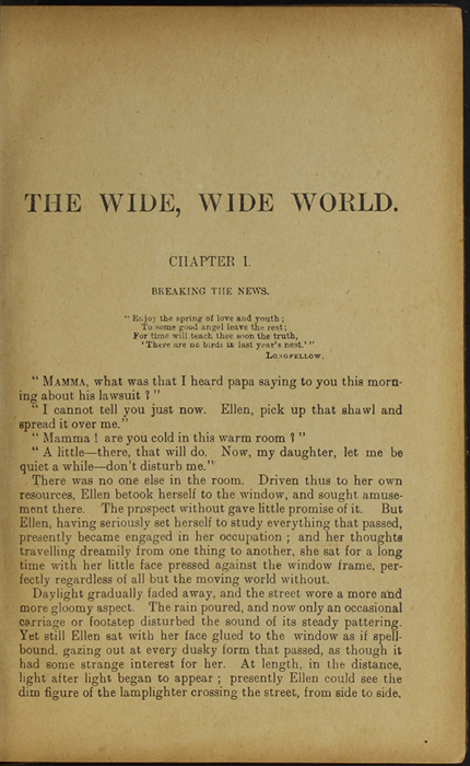 First Page of Text in the [1910] S. W. Partridge & Co., Ltd. Reprint