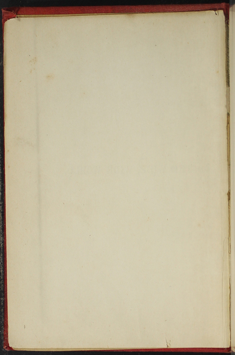 Verso of Front Flyleaf of [1891] James Nisbet & Co. Reprint