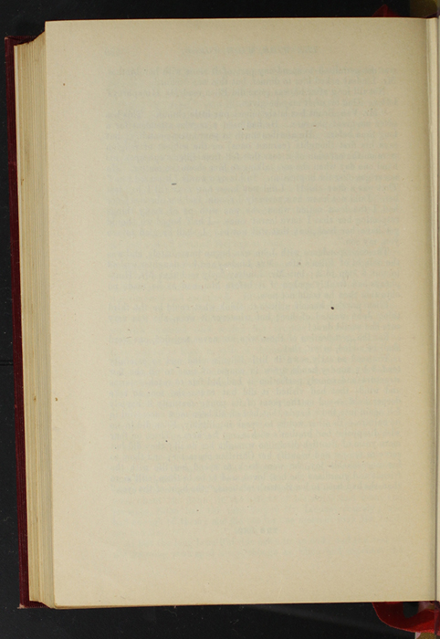 """Verso of Last Page of Text of the 1903 J. B. Lippincott Co. """"New Edition"""" Reprint"""