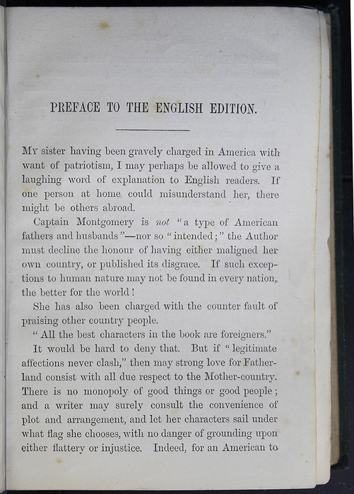 "Page iii of the Preface to the [1884] Frederick Warne & Co. ""Star Series"" Reprint"