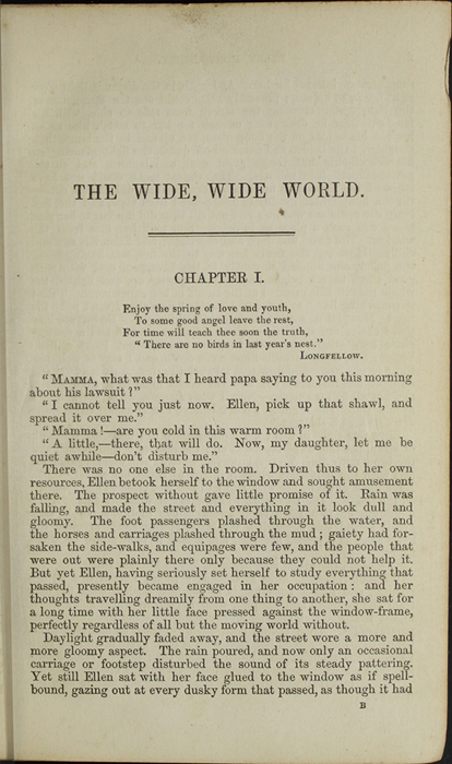 First Page of Text in the 1853 H. G. Bohn Reprint, Version 1