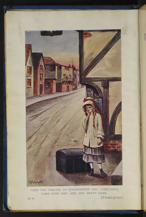 Frontispiece to the [1928] Epworth Press Reprint Depicting Ellen Arriving in Thirlwall