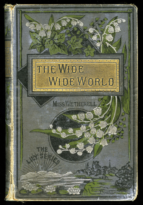 "Front Cover of the [1884] Ward, Lock & Co. ""Lily Series, Complete Edition"" Reprint"