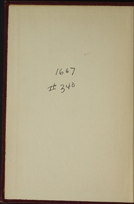 "Front Pastedown of the [1898] A. L. Burt Co. ""The Home Library"" Reprint"