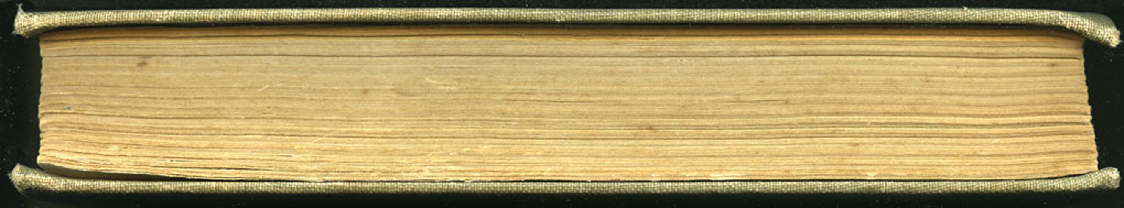 Fore Edge of the [1900] Hurst & Co. Reprint, Version 1
