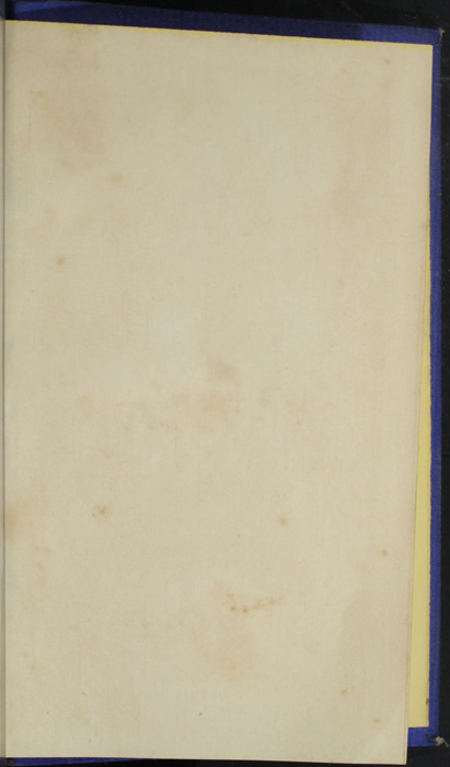 Recto of Second Back Flyleaf of the 1852 T. Nelson & Sons Reprint, Version 2