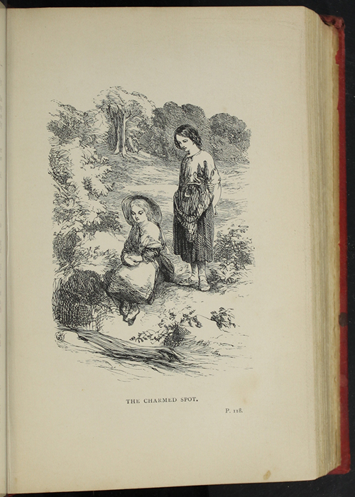 Illustration on Page 118a of the [1891] James Nisbet & Co. Reprint Depicting Nancy Finding Ellen at the Brook