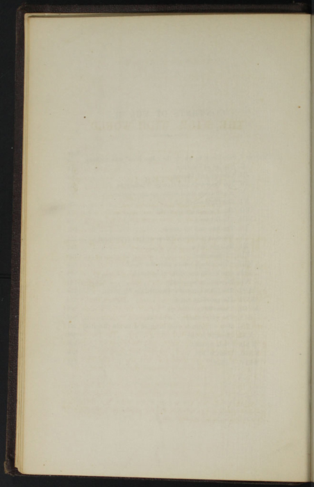 "Verso of Table of Contents for Volume 2 of the 1869 J. B. Lippincott & Co. ""New Edition"" Reprint"