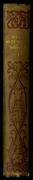 Spine of Volume 1 of the [1895] Merson Co. Reprint