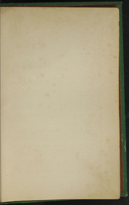 """Recto of First Back Flyleaf of the 1880 J. B. Lippincott & Co. """"New Edition"""" Reprint"""