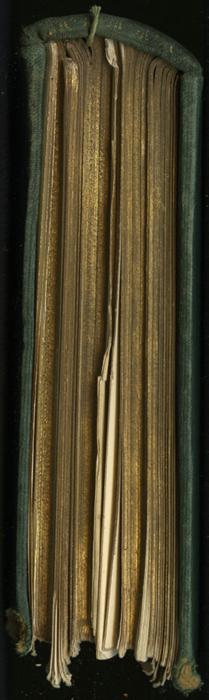 "Tail of the [1893] Walter Scott, Ltd. ""Emerald Library"" Reprint"