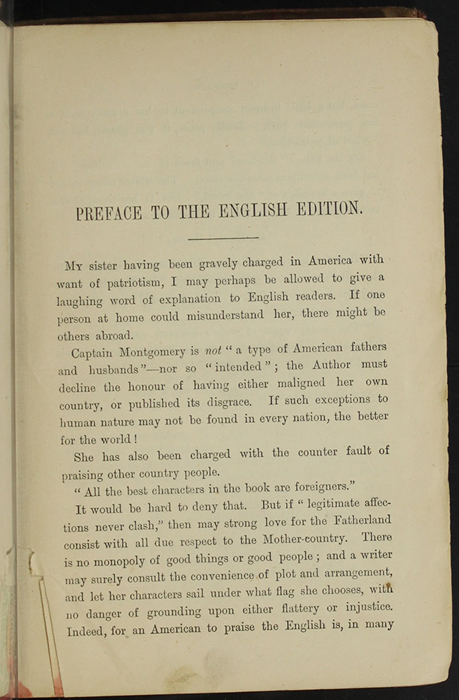 "First Page of the Preface to [1890] Frederick Warne & Co. ""Star Series"" Reprint, Version 2"