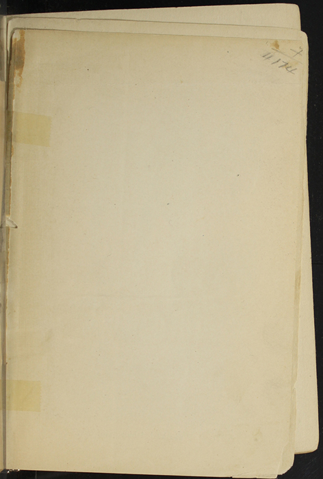 Recto of Front Flyleaf of [1907] Collins' Clear-Type Press Reprint