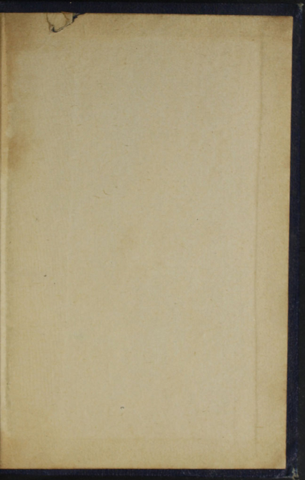 Back Pastedown of the [1887] W. Nicholson & Sons, Ltd. Reprint