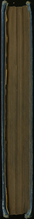 Fore Edge of the [1899] George Routledge & Sons, Ltd. Reprint, Version 1