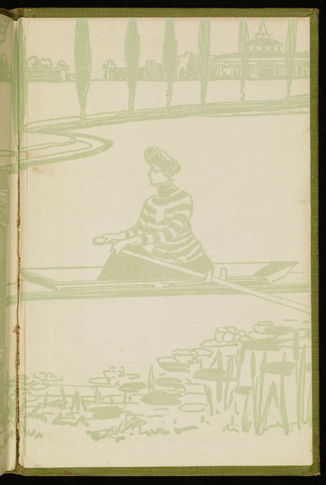 Back Pastedown of the [1915] M. A. Donohue & Co. Reprint