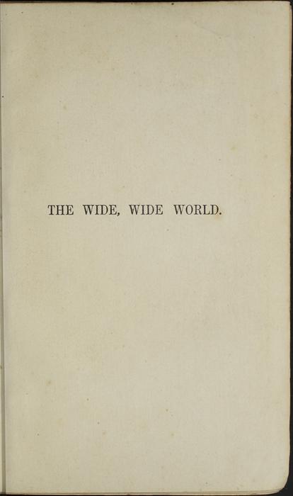 Half Title Page to the 1853 H. G. Bohn Reprint, Version 1