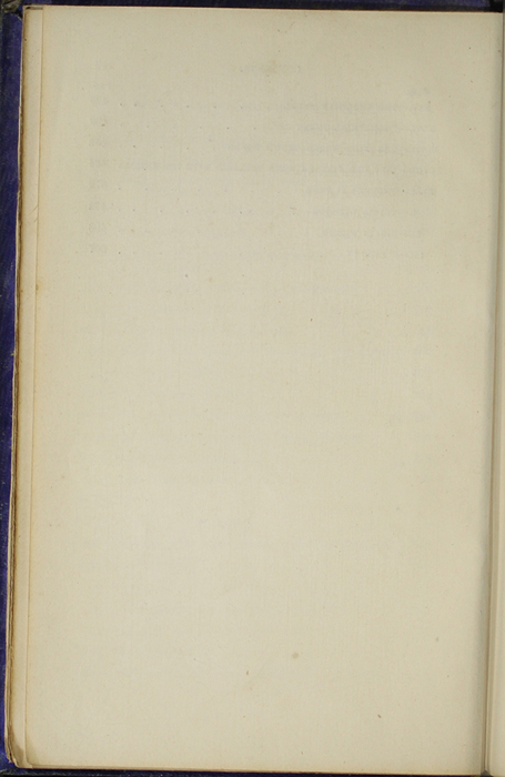 Verso of Third Page of the Table of Contents for the 1853 H. G. Bohn Reprint, Version 1