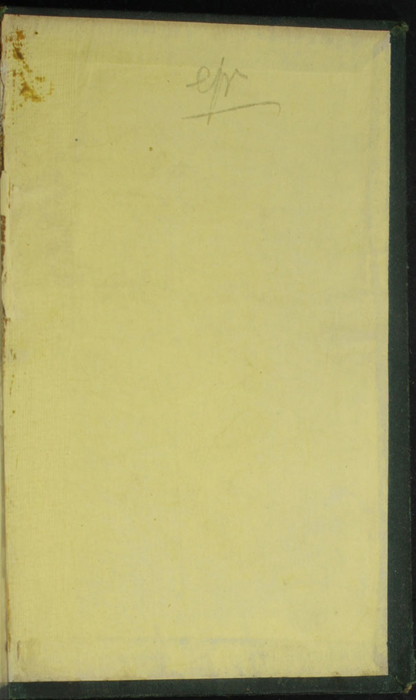 Back Pastedown of the [1879] Milner & Sowerby Reprint