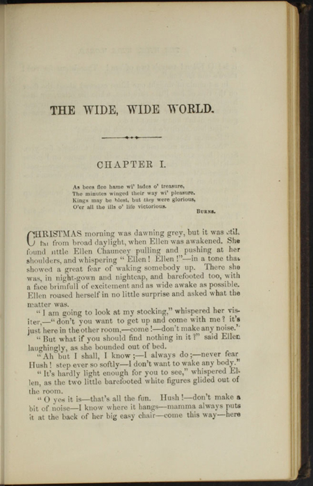 "First Page of Text in Volume 2 of the 1869 J. B. Lippincott & Co. ""New Edition"" Reprint"