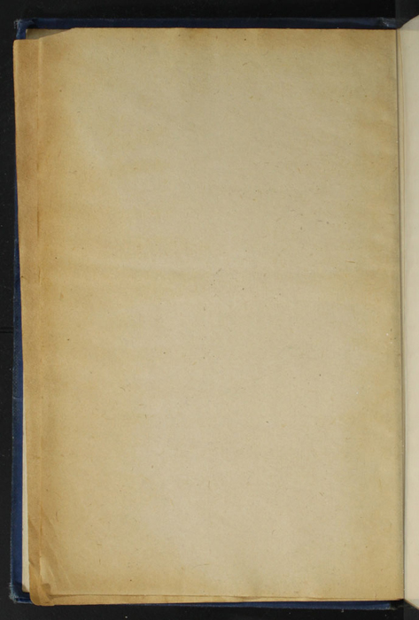 Verso of Third Front Flyleaf of the [1932] Epworth Press Reprint