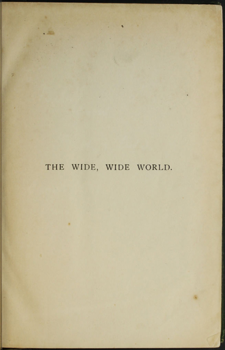 "Half-Title Page of the [1903] Ward, Lock, & Co., Ltd. ""Complete Edition"" Reprint"