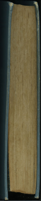 Fore Edge of Volume 2 of the [1902] Home Book Co. Reprint, Version 2