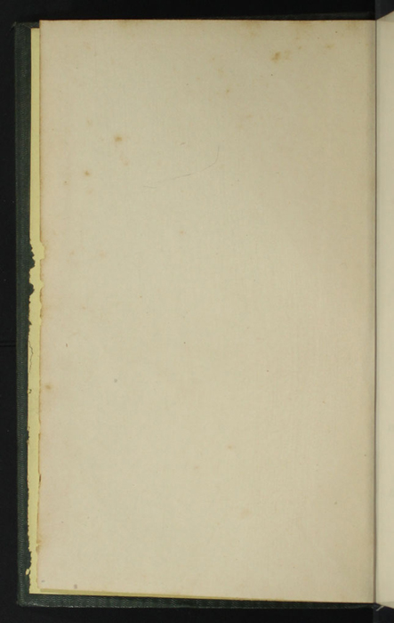 "Verso of Front Flyleaf of the 1853 Eli Charles Eginton & Co. ""Pocket Library"" Reprint"
