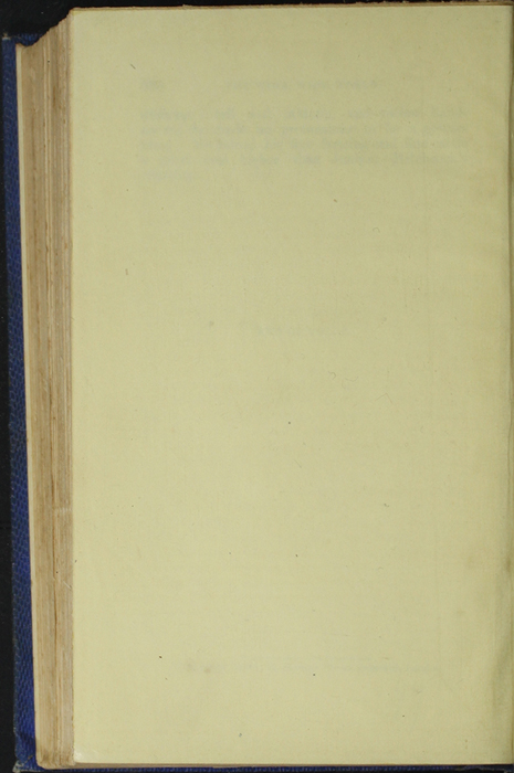 Verso of Back Flyleaf of Volume 1 of the 1852 Sampson Low Reprint