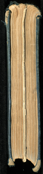 Tail of Volume 1 of the 1852 George P. Putnam 16th Edition, Version 2