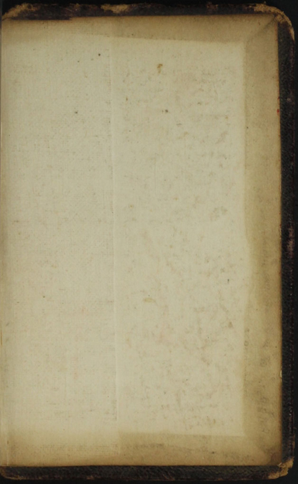 Back Pastedown of the [1874] William Nicholson & Sons, S.D. Ewins & Co. Reprint