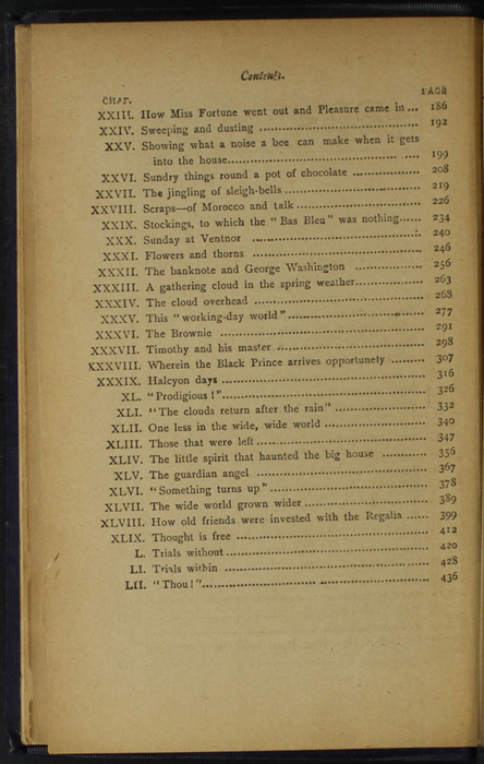 """Second Page of the Table of Contents for the [1896] The Grand Colosseum Warehouse Co. """"Complete Edition"""" Reprint"""
