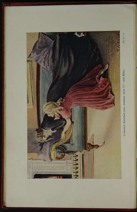 Frontispiece to the [1906] Charles H. Kelly Reprint, Version 2,  Depicting Ellen in the Parlour with Mamma