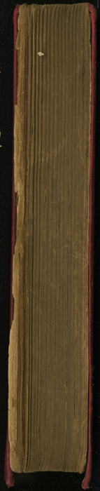 Fore-Edge of the [1908] R. E. King & Co Ltd Edition