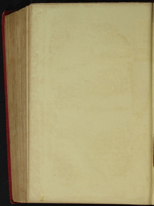 Verso of Back Flyleaf of the 1852 T. Nelson & Sons Reprint, Version 1