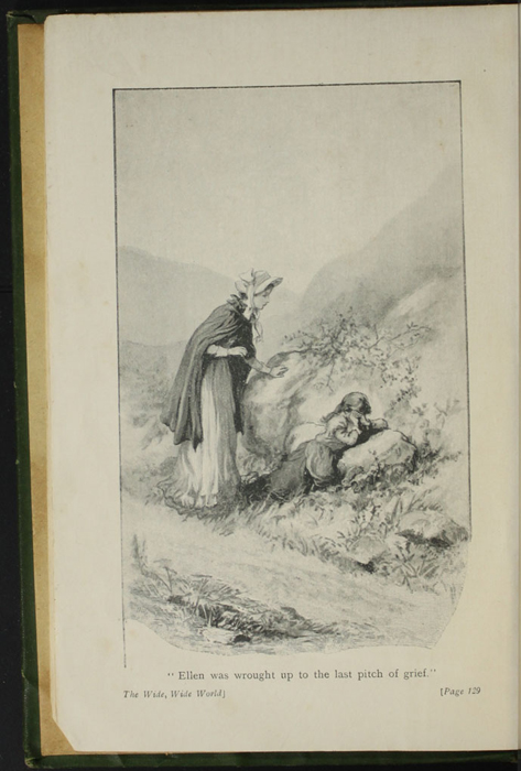 "Frontispiece to the [1903] Ward, Lock & Co, Ltd. ""Complete Edition"" Reprint Depicting Alice Finding Ellen on the Cat's Back"