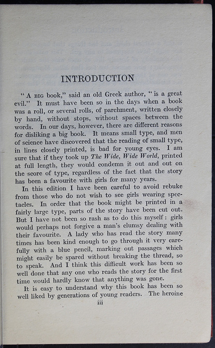 "First Page of the Introduction to the [1918] Humphrey Milford/Oxford University Press ""Herbert Strang's Library"" Reprint"