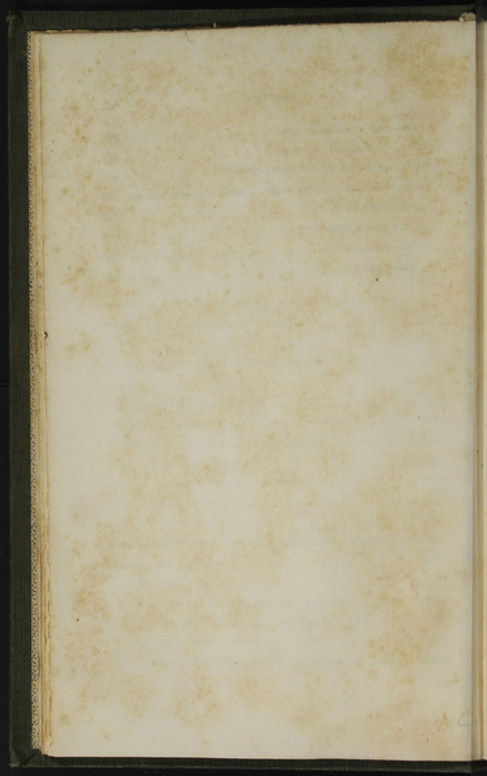 """Verso of Third Page of Table of Contents for the 1853 H. G. Bohn """"Standard Library"""" Reprint"""