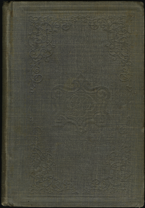 Front Cover of Volume 1 of the 1851 George P. Putnam First Edition