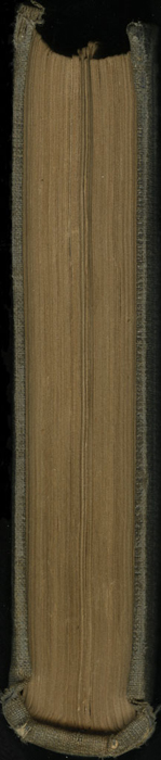 Tail of Volume 1 of the 1851 George P. Putnam First Edition<br /><br />