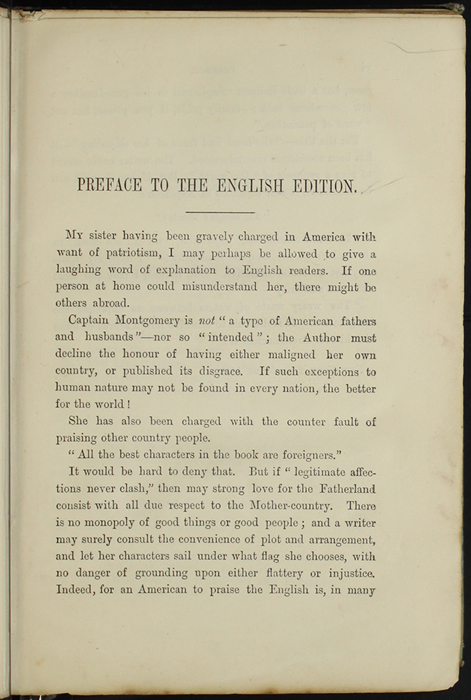 First Page of the Preface to [1890] Frederick Warne & Co. Reprint