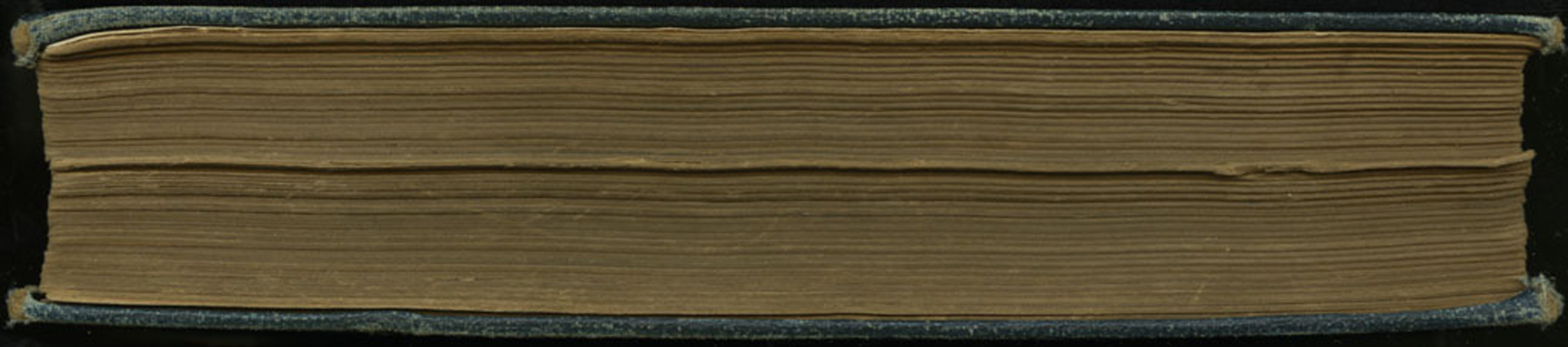 Fore-edge of the 1891 James Nisbet Edition