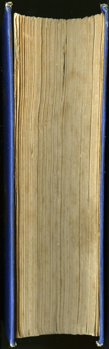 Fore Edge of the 1852 T. Nelson & Sons Reprint, Version 2