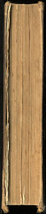Fore Edge of the 1879 Li-Quor Tea Co. Reprint