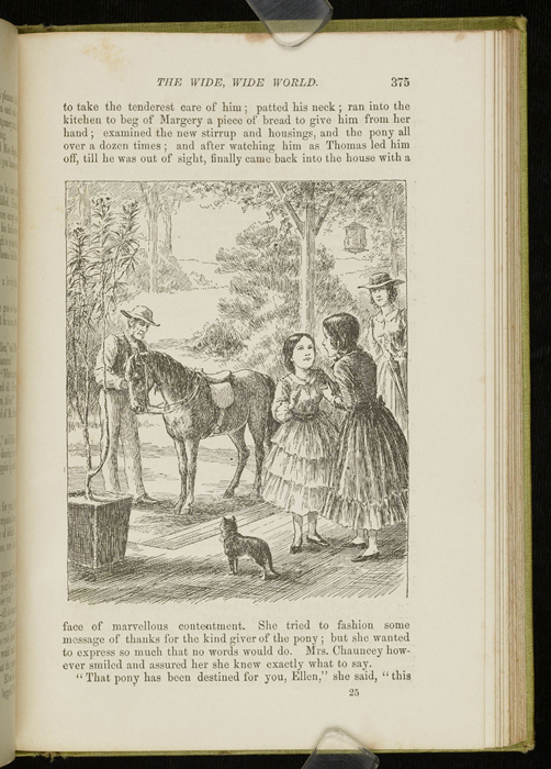 Illustration of on page 375 of the 1896 Hodder and Stoughton Reprint Depicting Ellen Meeting the Brownie