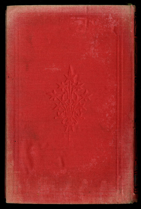 """Back Cover of the [1882] Ward, Lock & Co. """"Lily Series, Complete Edition"""" Reprint"""