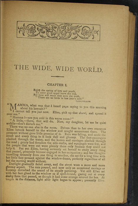"""First Page of Text in the [1896] The Grand Colosseum Warehouse Co. """"Complete Edition"""" Reprint"""